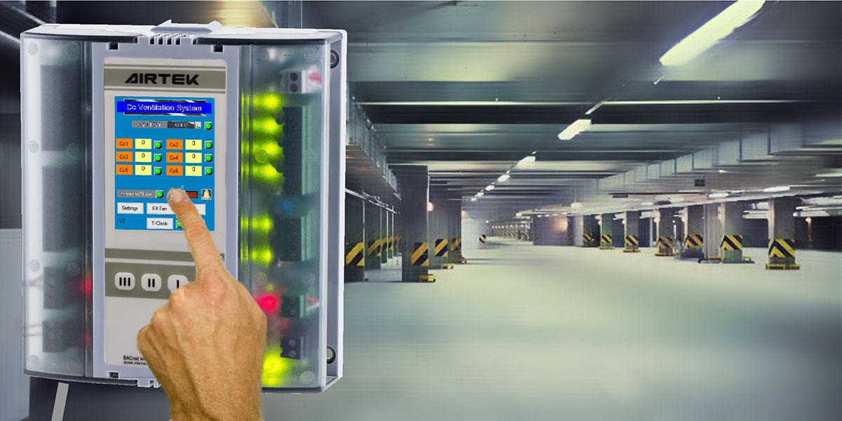 CAR PARK VENTILATION SYSTEM by AIRTEK